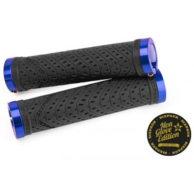 Sixpack K-Trix Lock-On Grips Non Glove, black/blue